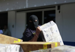 Рекордную партию кокаина и марихуаны конфисковали в Парагвае