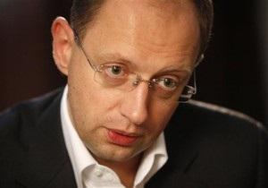 Яценюк: В Украине никогда не будет царя. А царицы - подавно