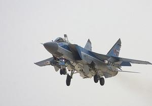 В России потерпел крушение военный самолет