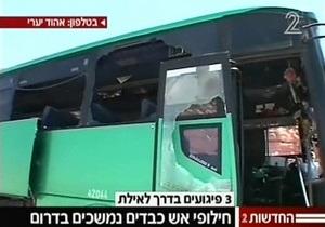 Жертвами обстрелов на юге Израиля стали пять человек