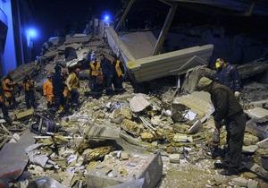 В Турции из-под завалов разрушенного землетрясением отеля спасли японку
