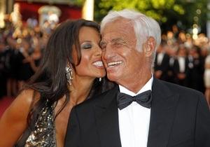 79-летний Бельмондо расстался со звездой Playboy