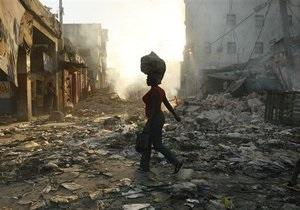 Украина выделила Гаити гуманитарную помощь