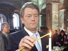 Ющенко поздравил христиан, празднующих сегодня Рождество