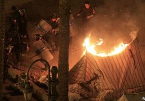 В Каире на годовщину свержения Мубарака зафиксированы массовые беспорядки