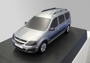 АвтоВАЗ впервые показал новую модель Lada на платформе Renault Logan