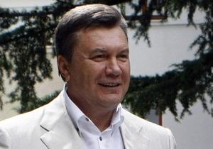 Янукович вернулся в Киев