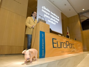 Последствия вспышки A/H1N1 обсудят на конгрессе по вопросам свинины в Испании