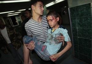 Израильская авиация нанесла ракетные удары по сектору Газа