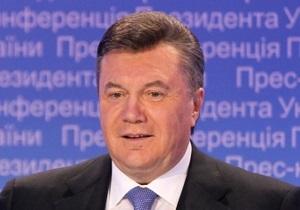 Янукович подписал указ об отмене празднования годовщины Оранжевой революции