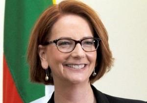 Австралия - Первая в истории Австралии женщина-премьер объявит о своей отставке в четверг