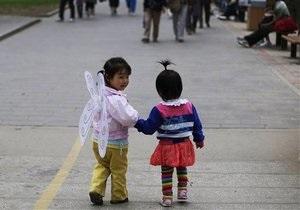 Китай: 10 тысяч пропавших детей ежегодно