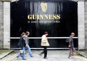 В Дублине горит склад пивоваренной компании Guinness