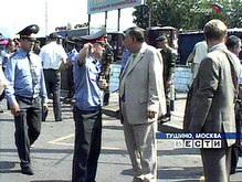 ГУВД Москвы: На Тушинском рынке взорвалась бомба, а не баллон