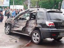 На проспекте Победы в Киеве столкнулись три автомобиля