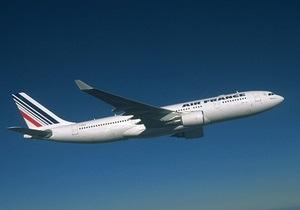 Падение разбившегося летом 2009 года самолета Air France продолжалось три с половиной минуты