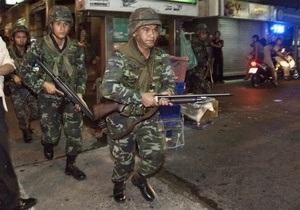 В Бангкоке прогремели взрывы