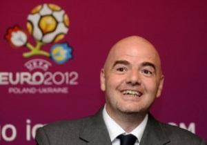 Генсек UEFA: Евро-2012 станет настоящим праздником футбола