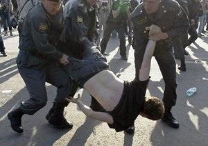 В Москве полиция задержала 25 протестующих, в том числе Лимонова