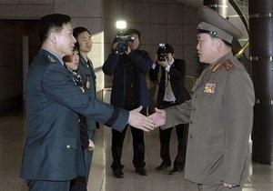 Переговоры военных Южной Кореи и КНДР провалились