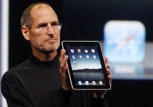 Apple обнародовала график продаж iPad