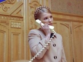 Тимошенко обсудила с Путиным новые сроки проведения межгосударственных консультаций