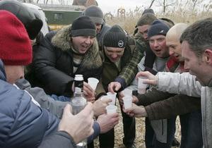 Новый год: В новогоднюю ночь в минском вытрезвителе можно будет проспаться за $30