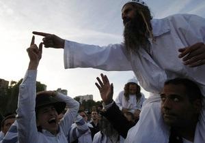 Во время праздника хасидов в Умани украинской милиции помогут израильские полицейские