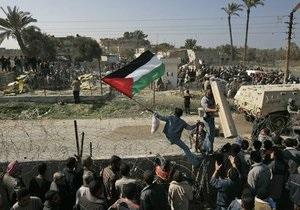Израиль вернул останки погибших палестинцев на родину