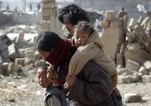 Число жертв землетрясения в Китае превысило 1,7 тысяч человек
