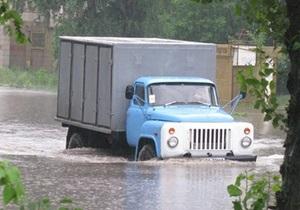 ГЧС - наводнение - паводок - погода - ГЧС предупреждает о возможном наводнении в 11 областях и Киеве