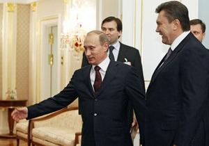 Янукович позвонил Путину