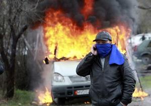 СМИ: В Бишкеке начались погромы на крупнейшем в Кыргызстане вещевом рынке