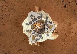 Марсоход Spirit впервые почти за год сдвинулся с места