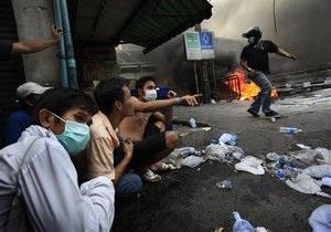 В центре Бангкока объявлена  запретная зона