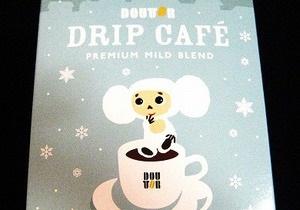 Японская сеть кофеен использовала в рекламе белого Чебурашку