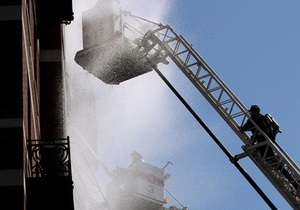 В Киеве горел 25-этажный дом
