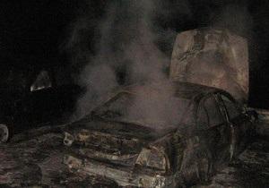 Новости Закарпатья - В Закарпатской области сгорел BMW-520, принадлежавший начальнику отдела погранконтроля - СМИ