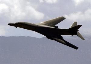 В США разбился бомбардировщик военно-воздушных сил
