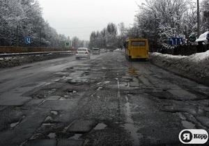Новости Киева - дороги - Попов недоволен ремонтом киевских дорог