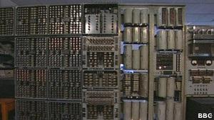 В Англии перезагрузили двухтонный компьютер