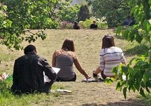 В киевских парках появятся тренажеры