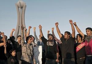 В центре столицы Бахрейна собрались тысячи демонстрантов