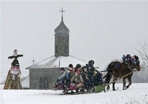 Православные начинают праздновать Масленицу