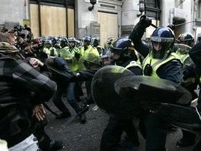 Полиция Лондона арестовала 86 противников саммита G20