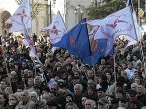 Грузинская оппозиция предъявила властям ультиматум