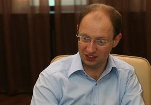 Яценюк призвал власть обеспечить полный допуск к выборам партии Тимошенко