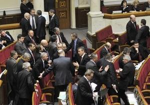Изменение Конституции: БЮТ исключил из фракции семь нардепов (обновлено)
