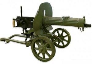 Из Украины в Россию пытались вывезти пулемет Максим