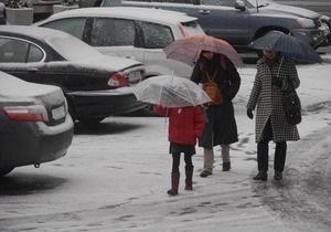 Фотогалерея: Белый и пушистый. В Киеве выпал первый снег